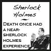 Sherlock - death near Sherlock experienc