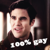 Scott: blaine 100% gay