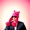 Rose: 30stm - Jared piggy hat