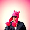 Rose: 30stm - Jared piggy hat