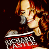Castle - Stana reading Heat Wave