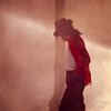 Caity: dancing michael with red jacket.