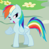 rainbow dash is fierce
