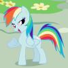 rainbow dash is fierce