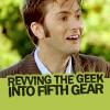 msredcrayon: Doctor - Fifth Gear Geek