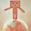 siix0_beautiixo: {Danbo} ⇔ sitting on top of the world.