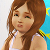 these sims aren't very fancy: SHE MAY NOT BE HEIR BUT SHE IS CUTE