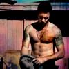 Topetine: Alex shirtless