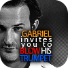 he who love touches walks not in darkness: SPN Gabriel blow my horn