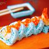 fish-eggy sushi