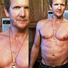 Balthazar shirtless