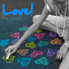 emeraldpanther: chalk hearts
