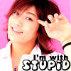 zurui_koi: I'm with stupid - Jin