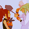 Pokemon - Touko + N [hat swapping]