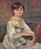 Девочка с кошкой
