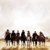 Magnificent Seven: riding in