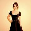 lea in THAT little black dress