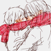 souslelys: FrUK { Scarf Kisses }