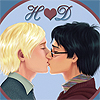 LadyDark1 ~ A  Harry and Draco Slash Addict.Period: H loves D kissing with heart