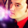 TW Ianto in red shirt side view