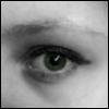 очі, фіалкора, погляд