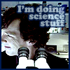 Sherlock - doing science stuff