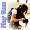 Christina [aka Stina]: play time with kame-kun