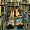 S Girls in Bookshelves