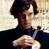 shadowfireflame: Sherlock with violin