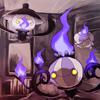 purple, lampent, litwick, shandera