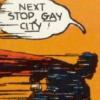 Alexander's terrible, no good, very bad day: [stock] gay city