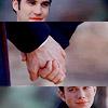 Katrin: Glee Klaine holding hands