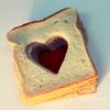 Александра: Тост-сердце