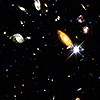Hubble deep space field