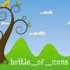 Bottle Of Icons Bird