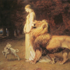 - Una and the Lion