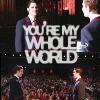 Maria: Kurt/Blaine whole world