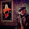 Shannon: b5 gkar daffy hat