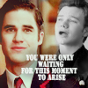 Maria: Kurt/Blaine moment