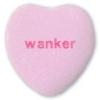 wanker, valentine