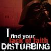 disturbing vader