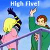 frankiealton: highfive