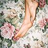 Flowery feet