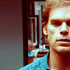 Dexter - Blue shirt
