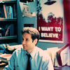 Chuck: XF - Mulder on his desk