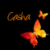 Casha Orange Butterflies