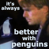 better with penguins