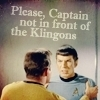 st - k/s not in front of the klingons
