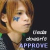 your friendly neighborhood Isi: Ueda doesn't approve