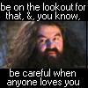 Harry Potter - Be careful